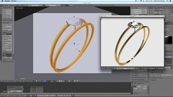 Diseño 3D para joyeria